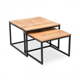 Кофейный столик в стиле лофт набор НУМА ГУЛАБИ
