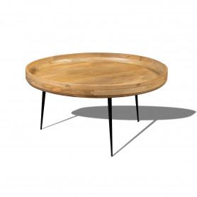 Кофейный столик лофт Столик из массива манго, ДАУЛАТА