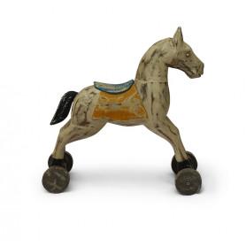 Декор в стиле лофт лошадка ЧИТРАВИЧИТРА большая
